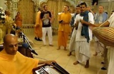 Radhaanth Swami Kirtan at Iskcon San Diego
