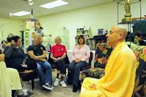 Radhanath Swami & Gary Video1