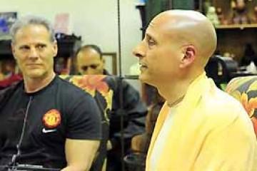 Radhanath Swami and Gary