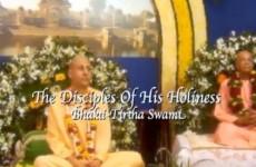 1 - Radhanath Swami Chants Bhakti Tirtha Swami Lila