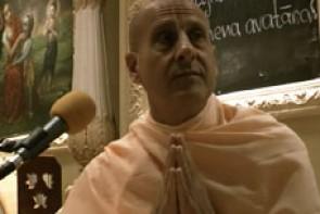 Radhanath Swami in ISKCON London